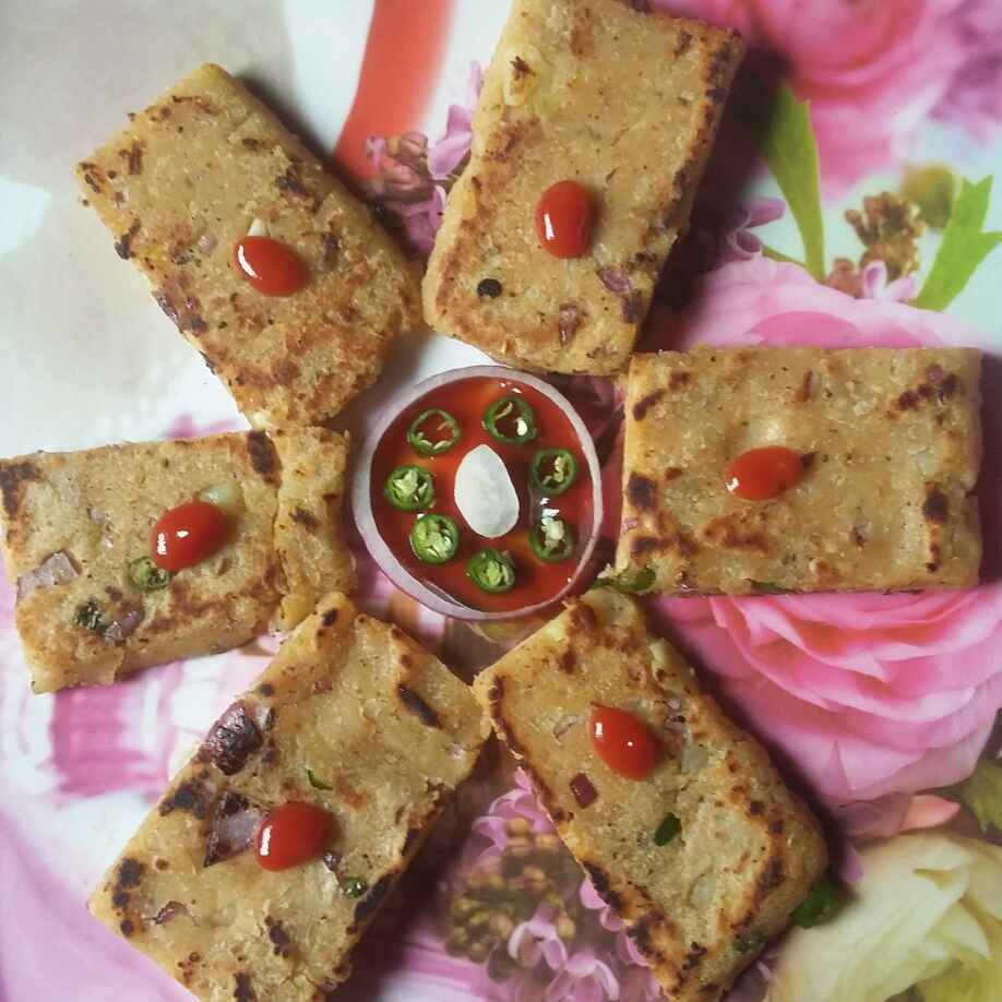 Photo of Rice Flour Namkin Tava Cake by Sneha Jha at BetterButter