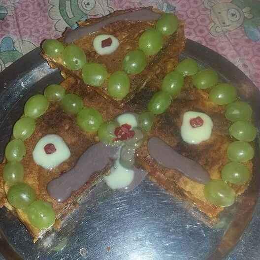 How to make डबल स्टफ्ड स्वीट चीला केक