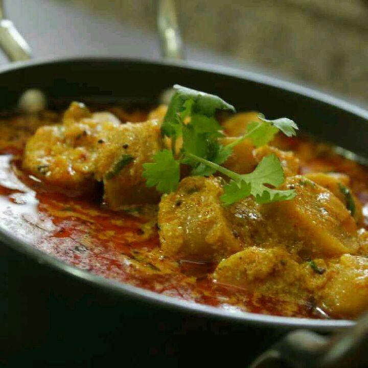 How to make Gatte ki sabji