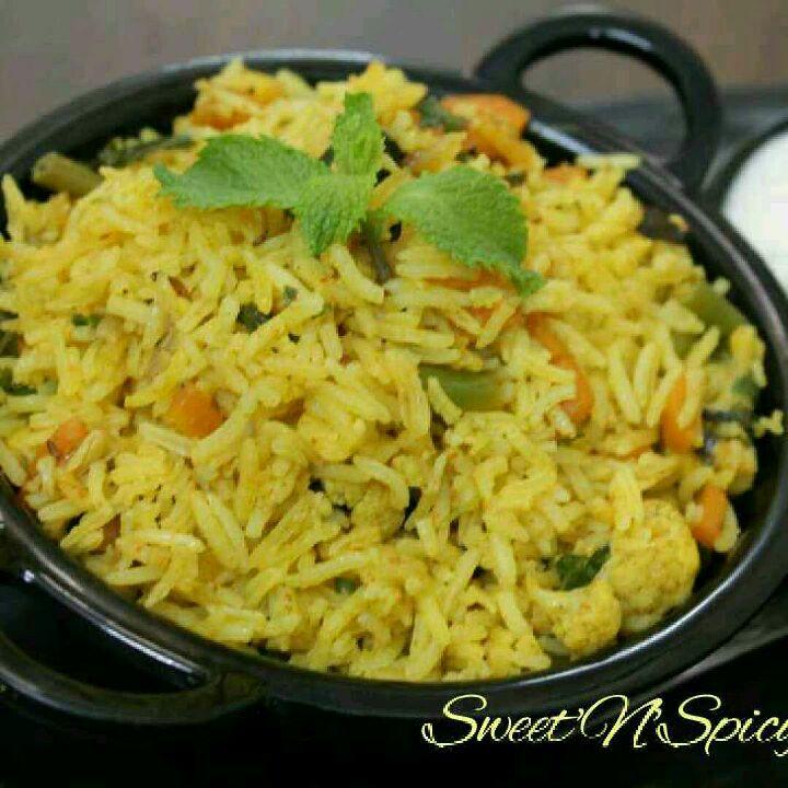 How to make Veg Biriyani in 15 minutes