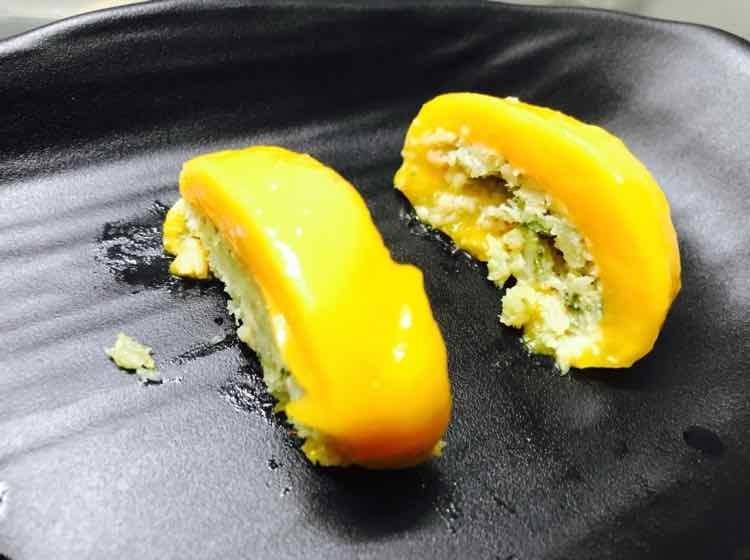 How to make pan coconut mango slice