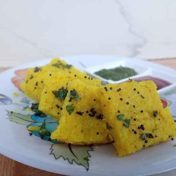 How to make Beaten rice (pauva) dhokla