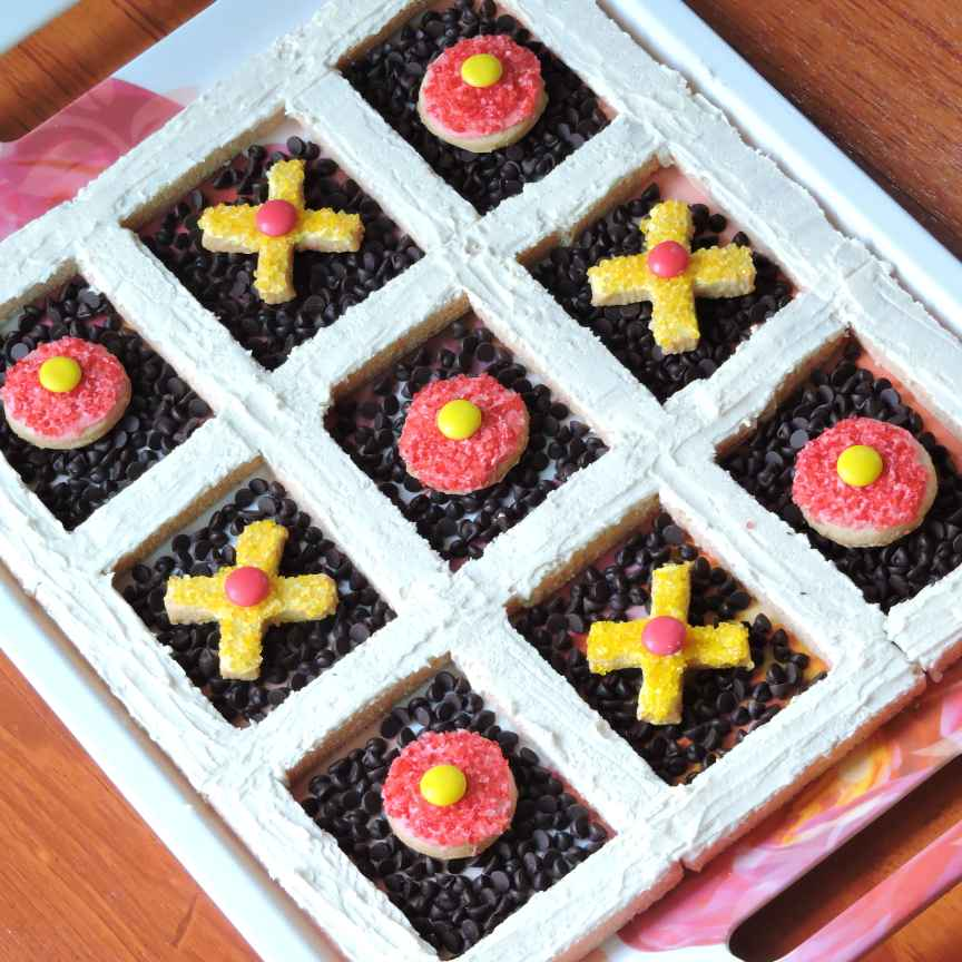 Photo of Tic-tac cookies by Solanki Minaxi at BetterButter