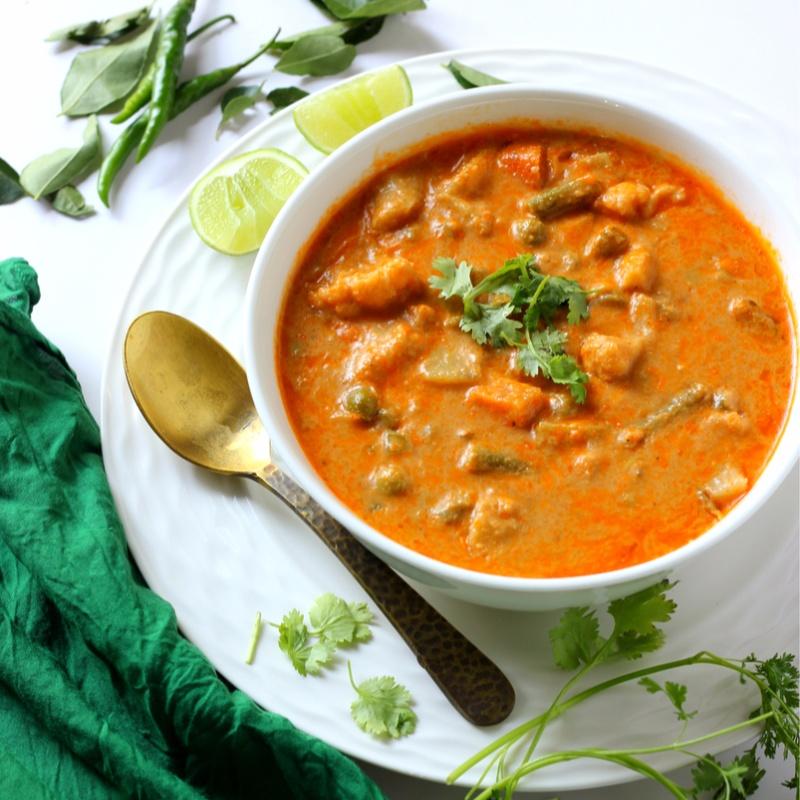 How to make Mughlai Vegetable Korma
