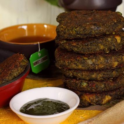 How to make Palak and Paneer Kebab