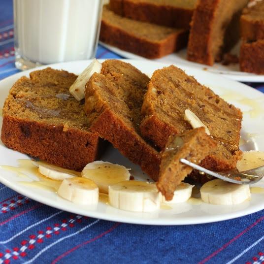 How to make NO SUGAR EGGLESS BANANA WALNUT CAKE WITH JAGGERY