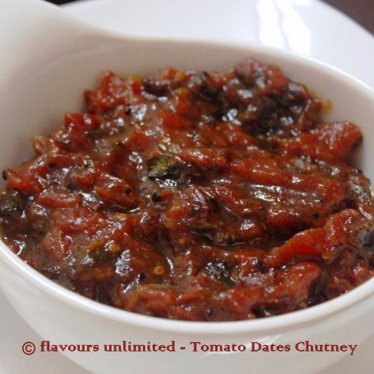 How to make Tomato Dates Chutney