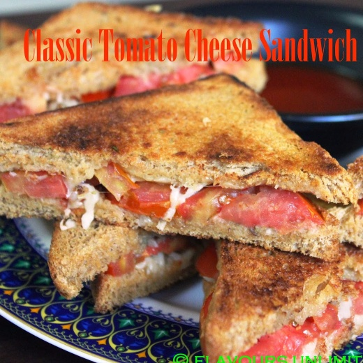 How to make Classic Tomato and Cheese Sandwich