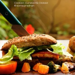 Photo of FISH BURGER SERVED WITH MASHES POTATOES AND VEGGIES by Soma Pradhan at BetterButter