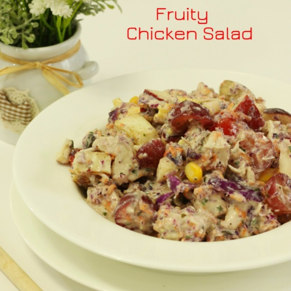 How to make Fruity Chicken Salad