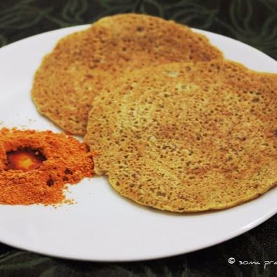How to make Rawa And Oatmeal Pancake