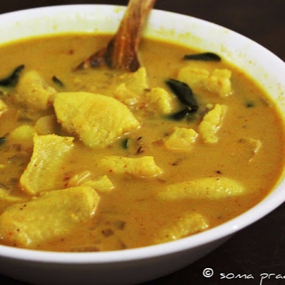 Photo of Creamy Fish Curry With Green Mangoes by Soma Pradhan at BetterButter