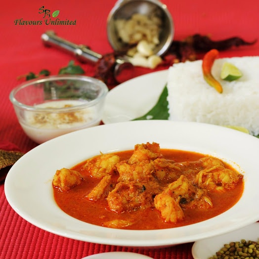 How to make AUTHENTIC GOAN RED PRAWN CURRY