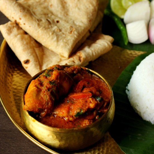 How to make CHICKEN CURRY ODIA STYLE