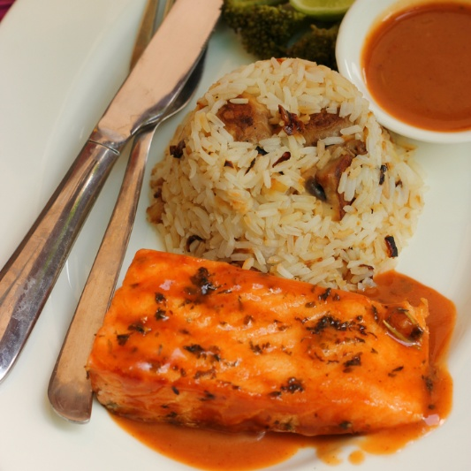 How to make SALMON IN BBQ SAUCE