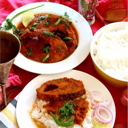 How to make TRADITIONAL ROHU FISH CURRY