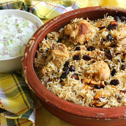 How to make Summery Matka Dum Biryani with Chicken N Raw Mango and Loads of freshness of Mint