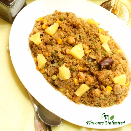 Photo of QUINOA PILAF by Soma Pradhan at BetterButter