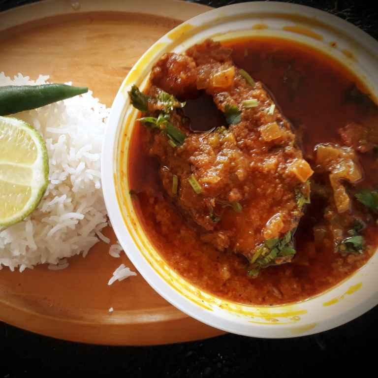 Photo of Rui macher kaliya....(rohu fish curry) by Soma Das at BetterButter