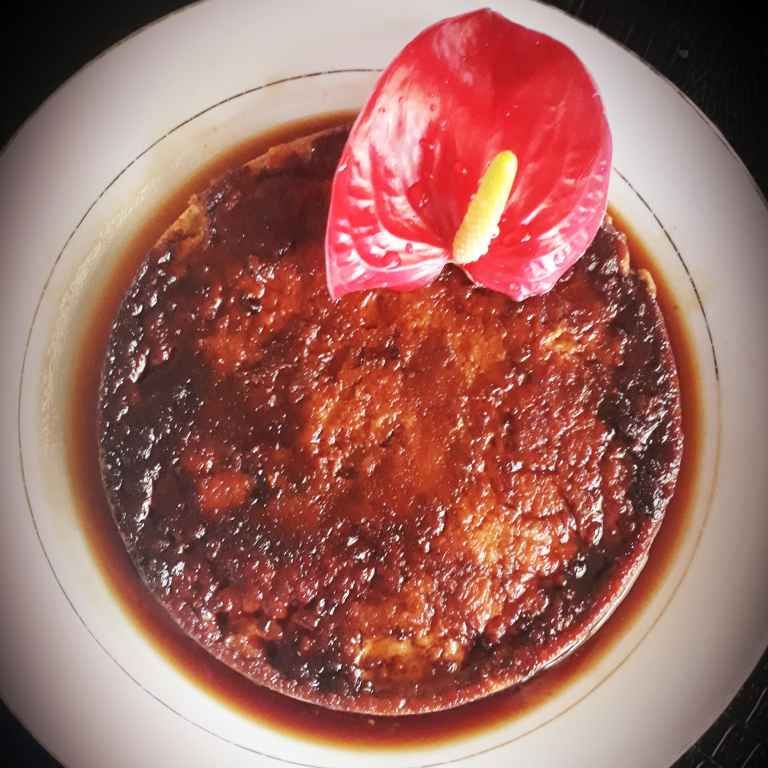 Photo of Egg flan with nolen gur ( jaggary) by Soma Das at BetterButter