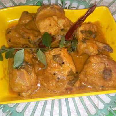How to make নারকোল চিকেন