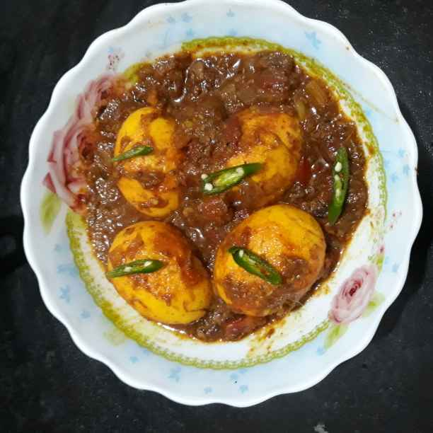 Photo of Spicy Egg curry by Soma Mukherjee at BetterButter