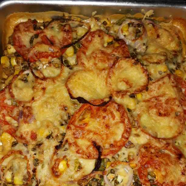 Photo of Baked potato & vegetable by Soma Mukherjee at BetterButter