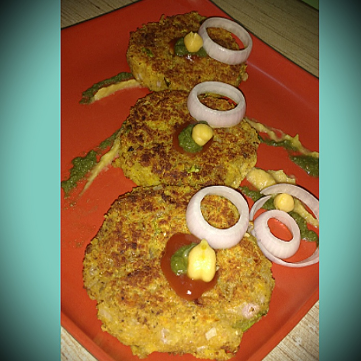 Photo of Chickpeas Cutlets by Somya Gupta at BetterButter