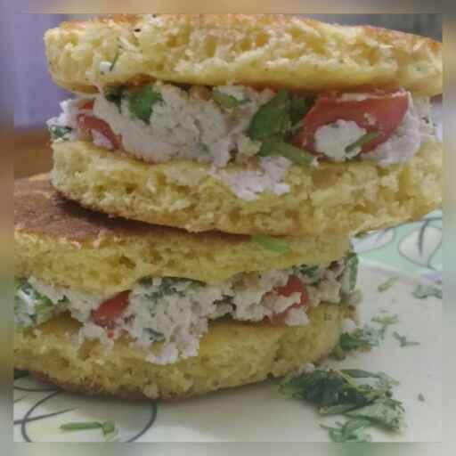 Photo of Tava dhokla sandwich by Somya Gupta at BetterButter