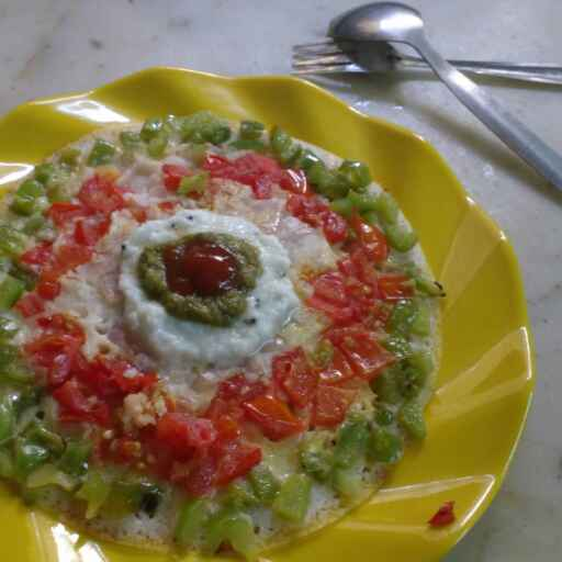 Photo of Colourful veggie  uttapam by Somya Gupta at BetterButter