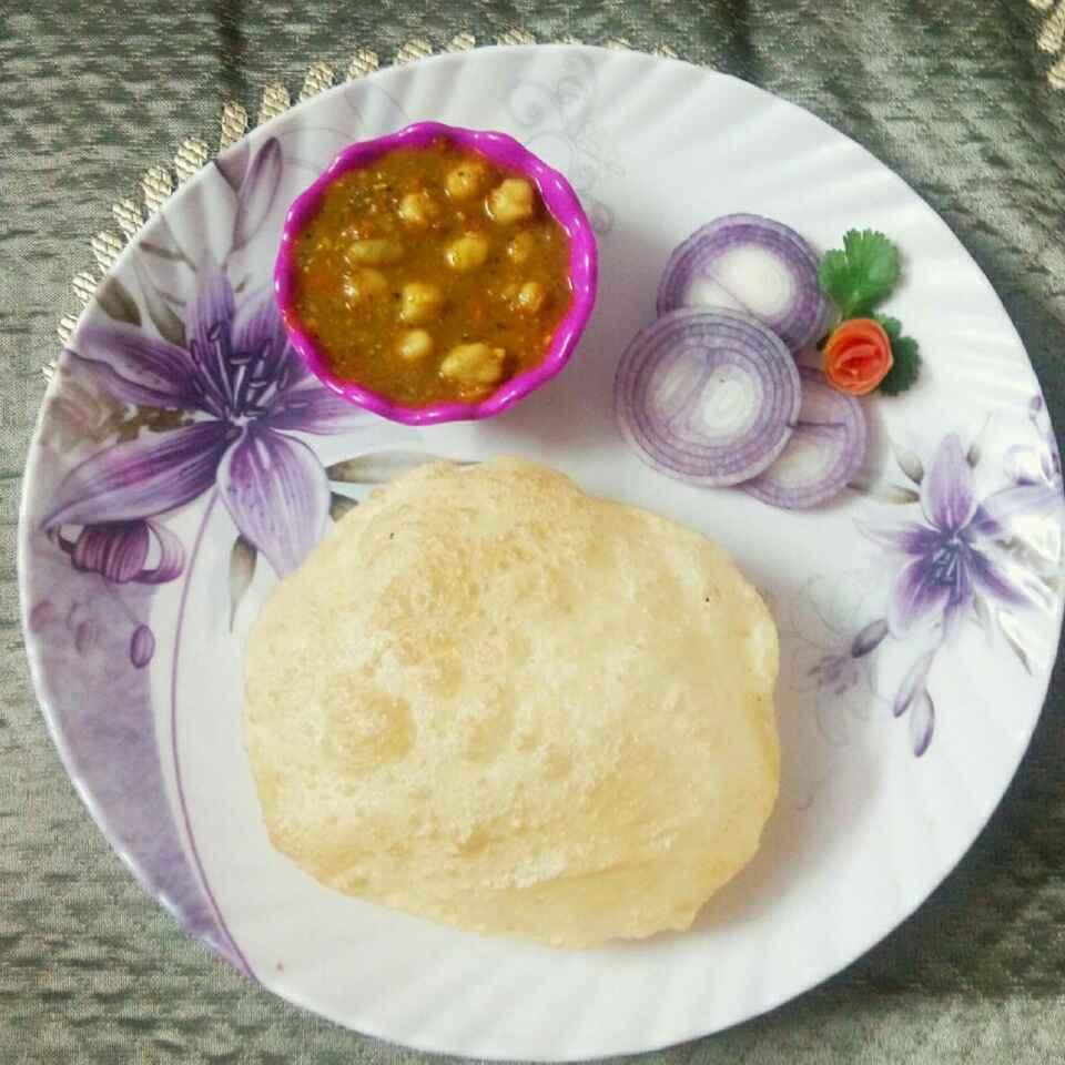 Photo of Chhole bhature by Somya Gupta at BetterButter
