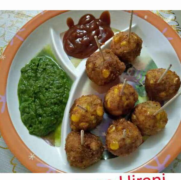 How to make कॉर्न चीज़ बॉल्स