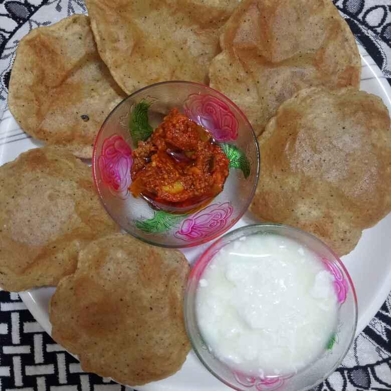 How to make Kali mirch ki puri