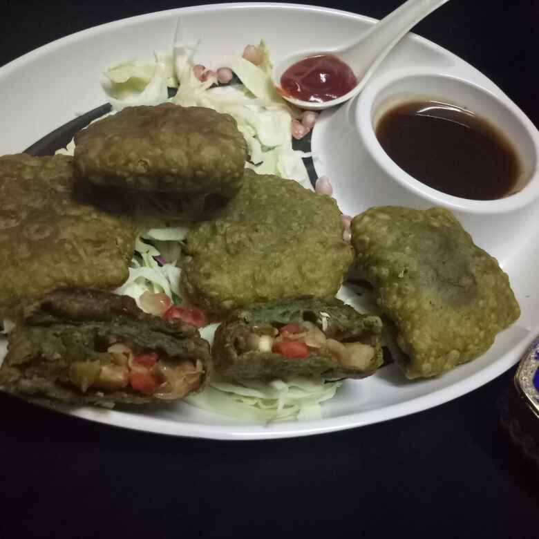 Photo of Veggies green pocket by Sona Hirani at BetterButter
