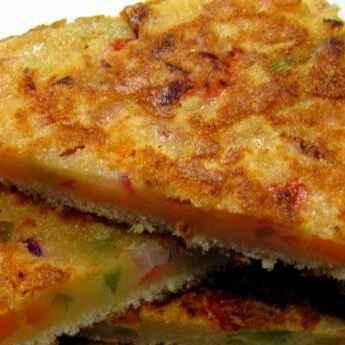 How to make Veg malai toast