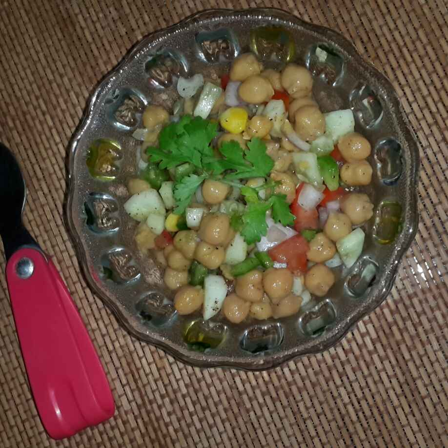 Photo of Chickpeas Salad by sonal bansal at BetterButter