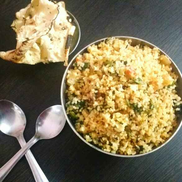 Photo of Broken rice spinach pulao by Sonal Kotriwala at BetterButter