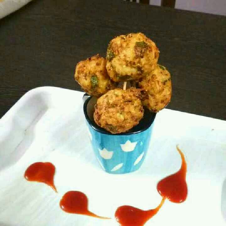 How to make Veggie Noodle Balls