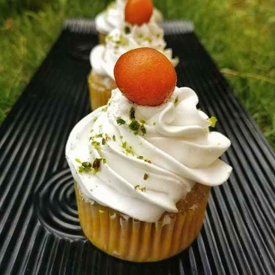 Photo of Gulabjamun cupcakes by Sonal Nanavati at BetterButter