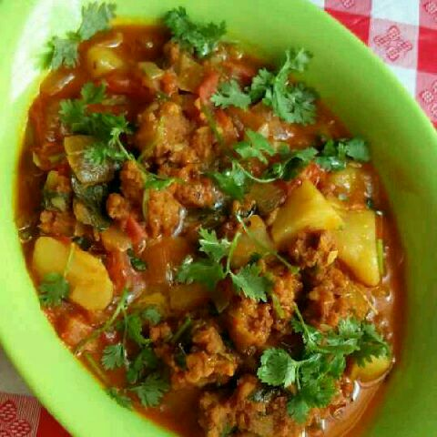 How to make PAKODA CURRY