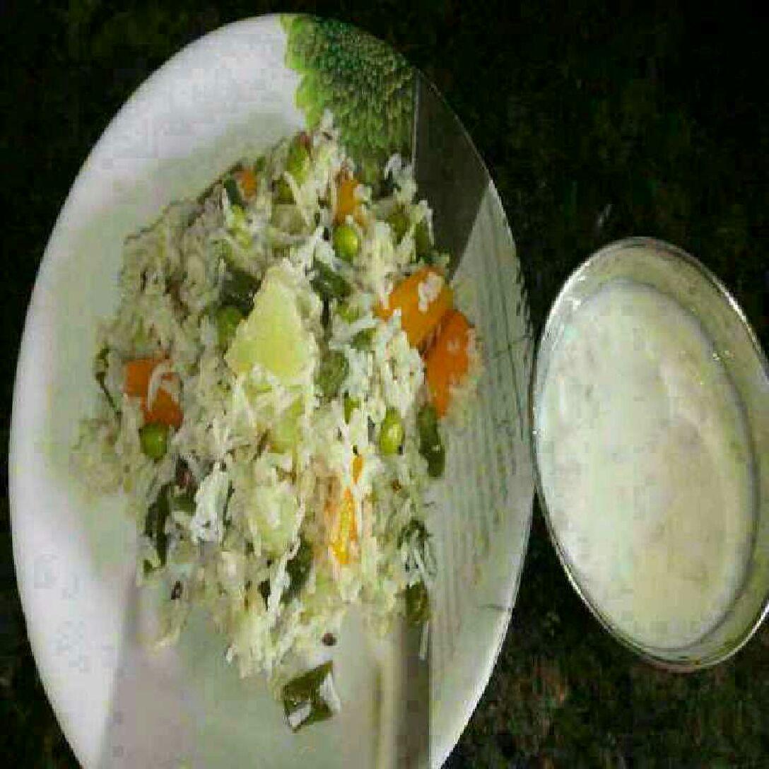 How to make Veg Coconut Pulav