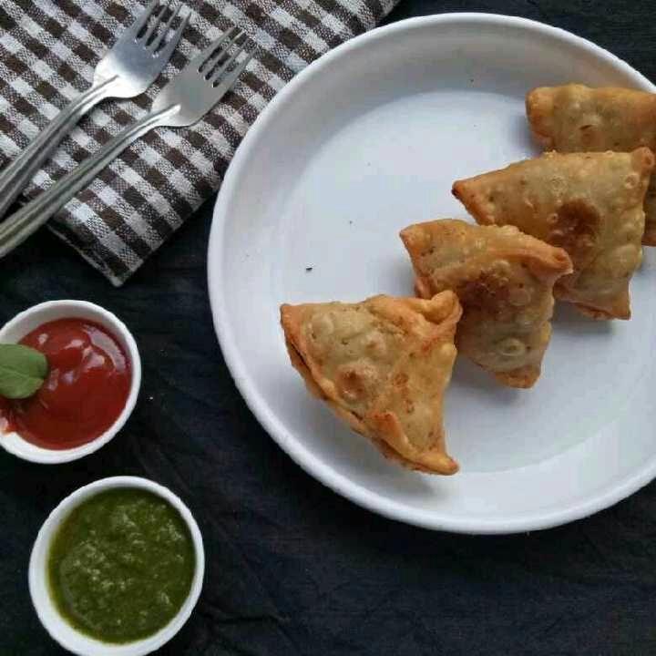 How to make Crispy Samosa