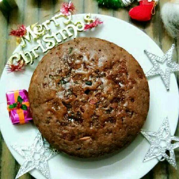 How to make 5 Minute Christmas Fruit Cake