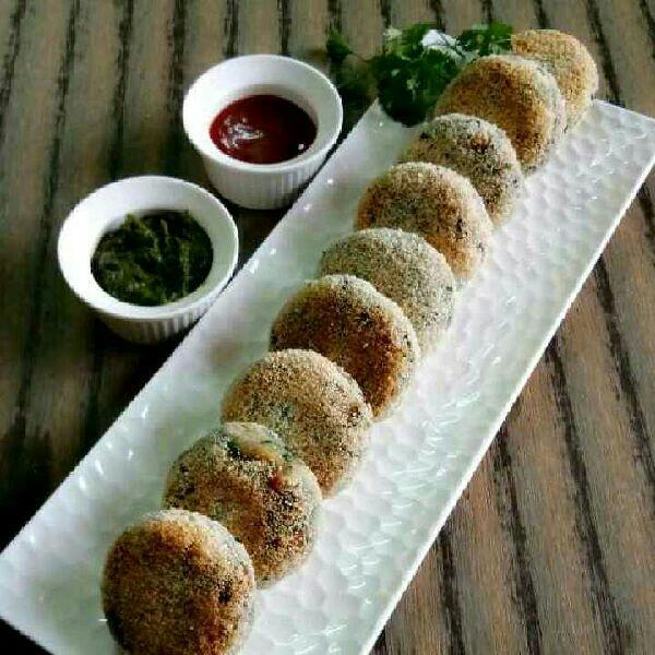 How to make Crispy Palak Paneer Kebab