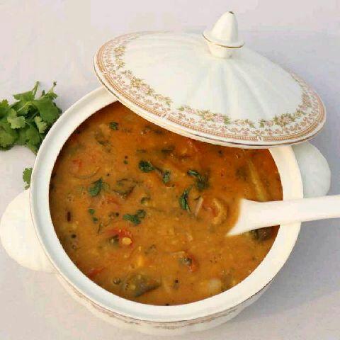 How to make Sarvana Bhavan Style Sambar