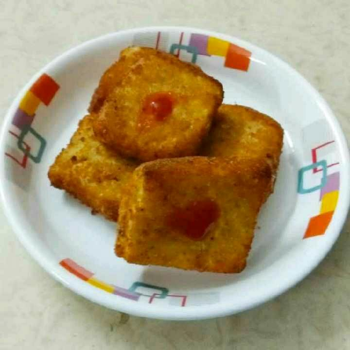 How to make Crispy Cheesy Sandwich Bites