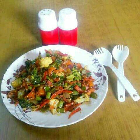 How to make Vegetable Stir Fry