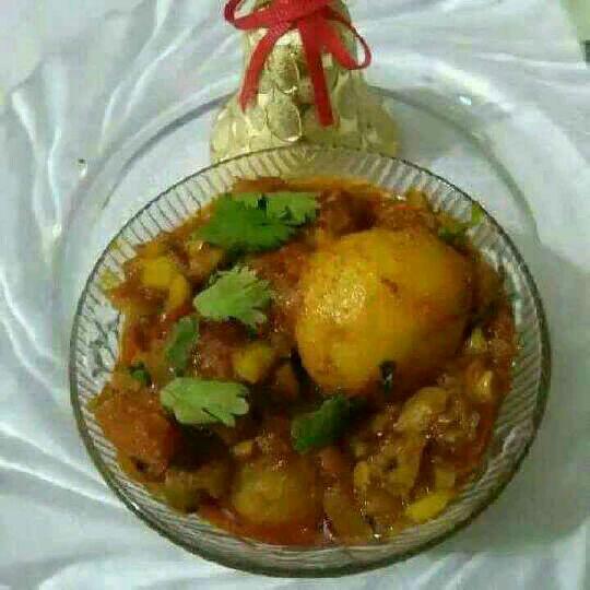 How to make Gujarati Dum Aloo