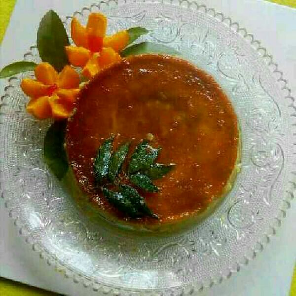How to make No Bake Caramel Bread Pudding