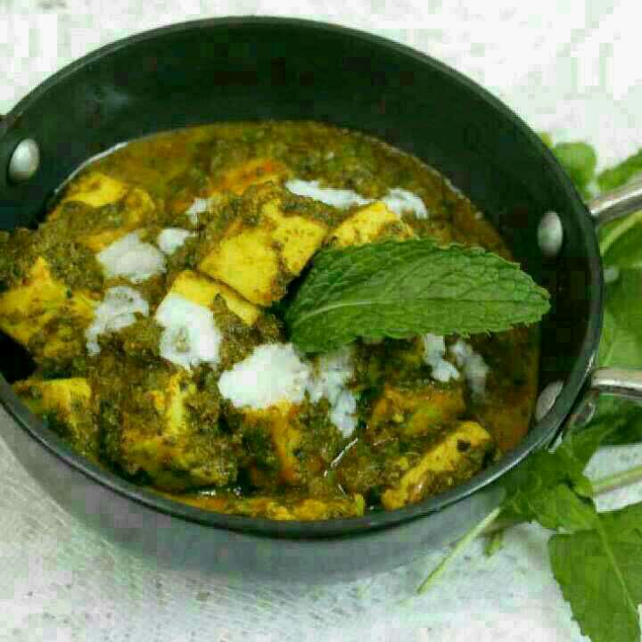 How to make Hara Bhara Paneer